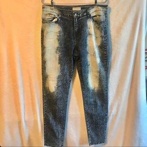 APHRODITE skinny jeans. 2X